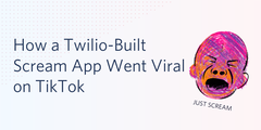 Viral scream app