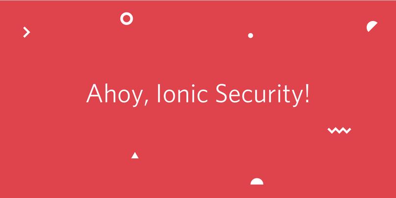 Ionic Security Hero