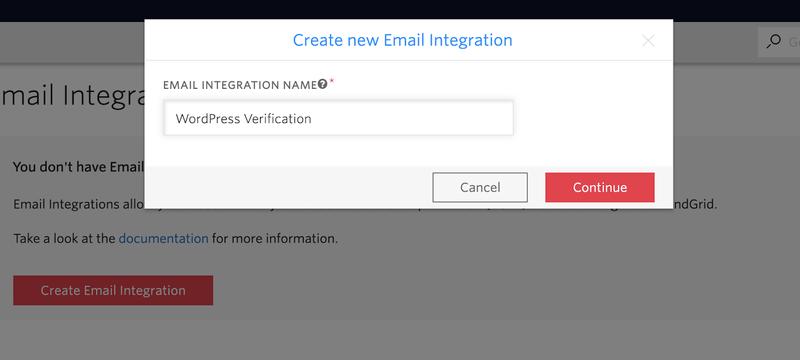 Twilio Verify Email Integration