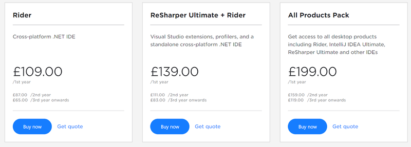 Rider subscription optionss