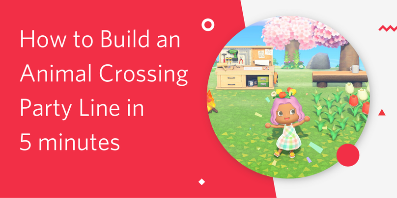 Header Animal Crossing Party Line