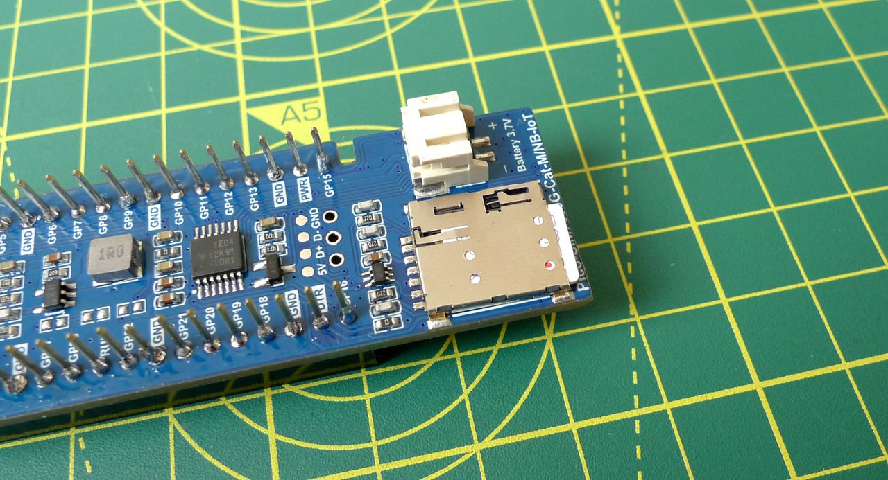 Fit the Super SIM into the Waveshare board