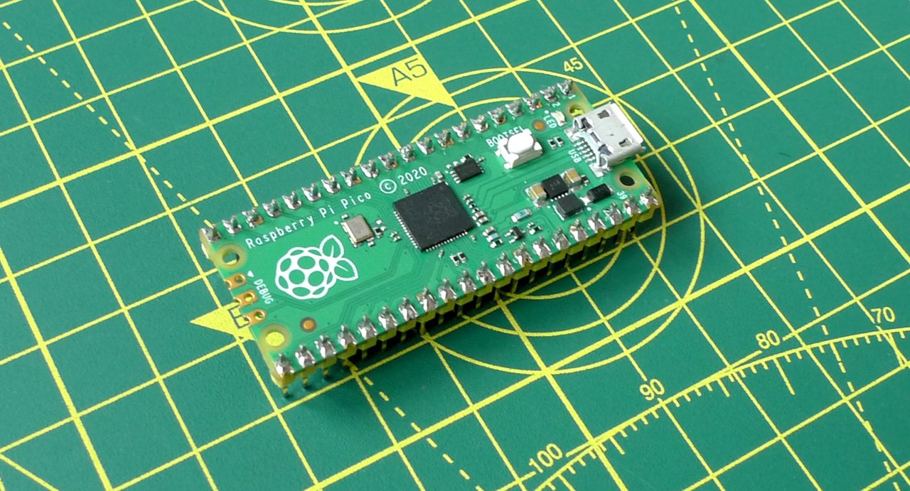 The highly programmable Raspberry Pi Pico