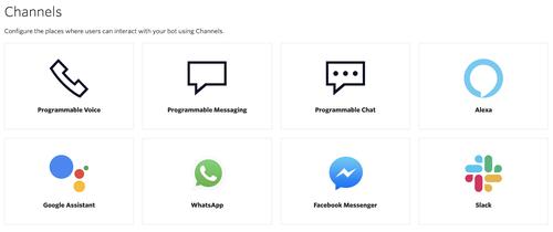 programmable voice channels