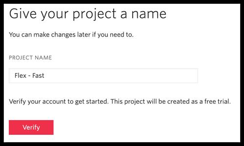 Name a Flex Project