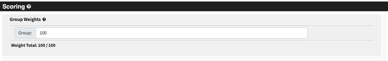 screenshot of the referee scoring page