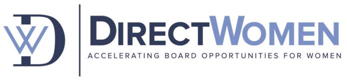 DirectWomen board diversity