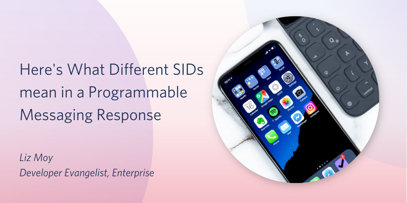 Here's What Different SIDs mean in a Programmable Messaging Response