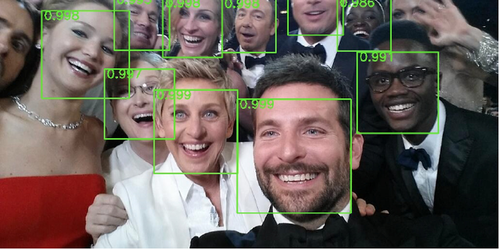 selfie image recognition