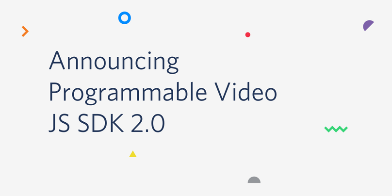 Announcing Programmable Video JS SDK 2.0