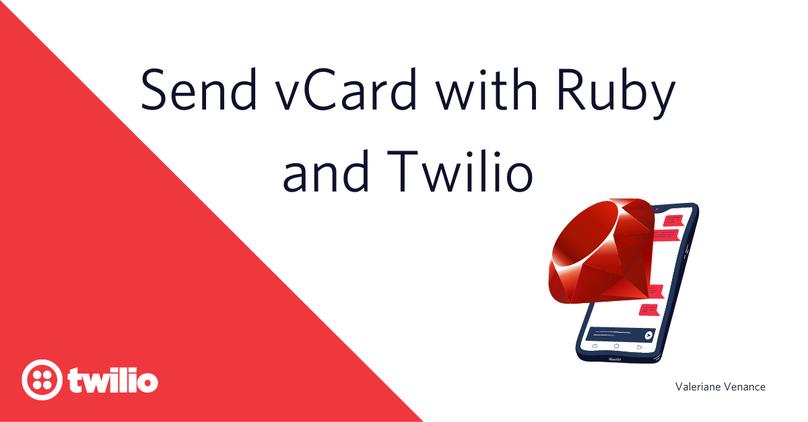 send-vcard-twilio-ruby