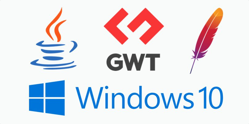 Java, Windows 10, GWT and Apache Maven