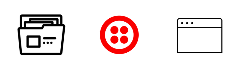 Projects Twilio Console