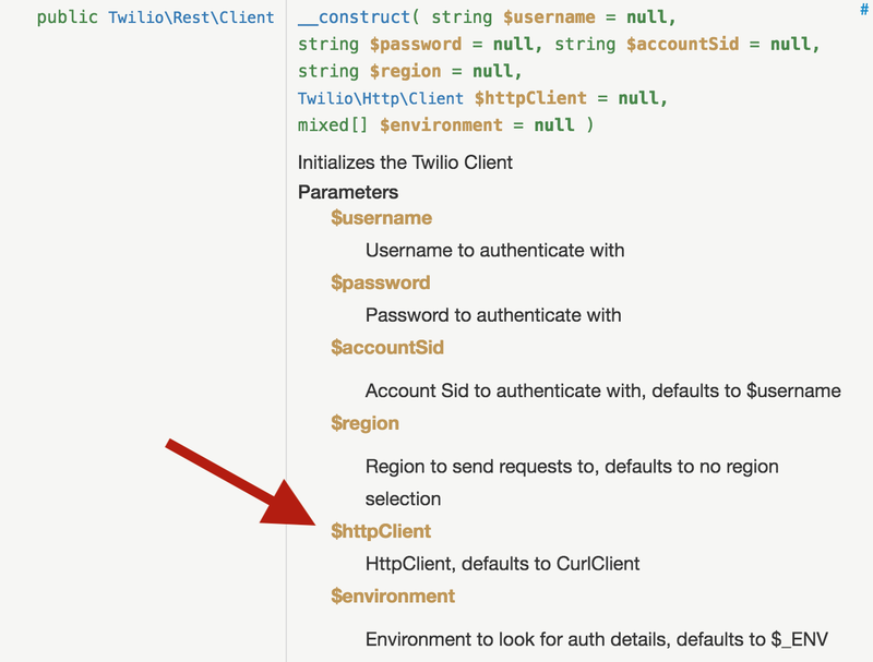 Custom HTTP Client