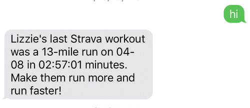 SMS example with better run time