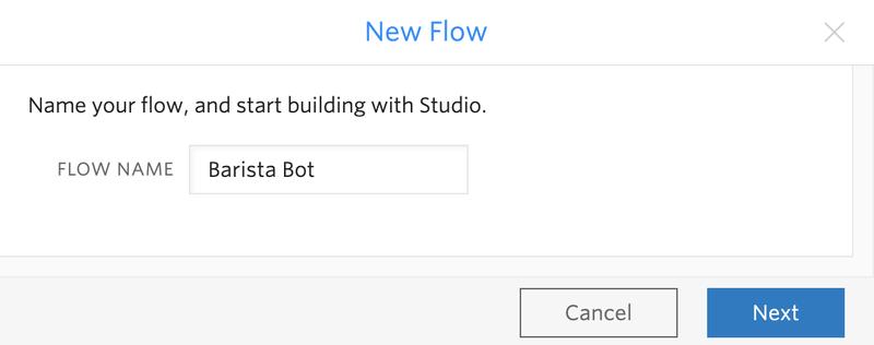Barista Bot Flow