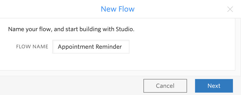 Appointment Reminder Flow