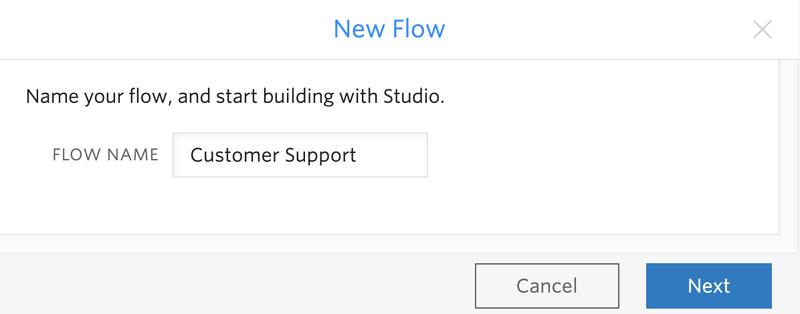 Customer Support Flow