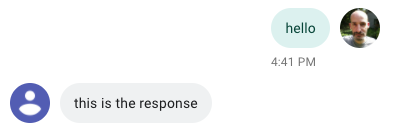 response from Flask via Ngrok
