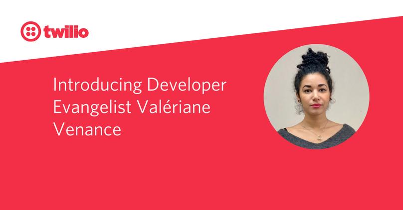 Introducing Developer Evangelist Valériane Venance