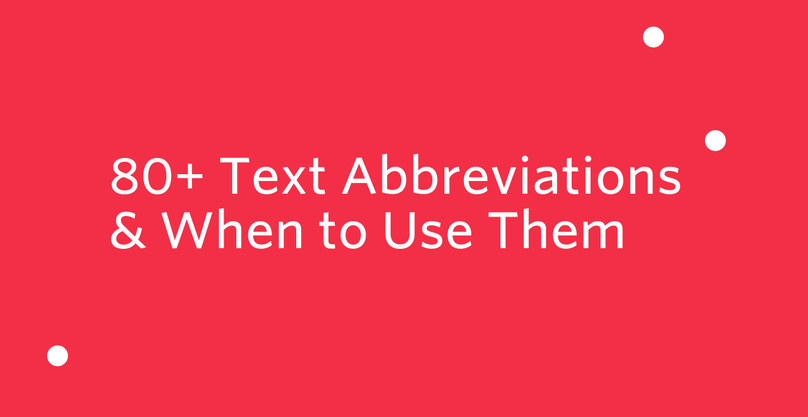 text-abbreviations