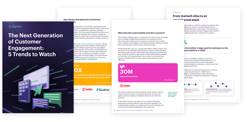 A preview of the inside of: The Next Generation of Customer Engagement