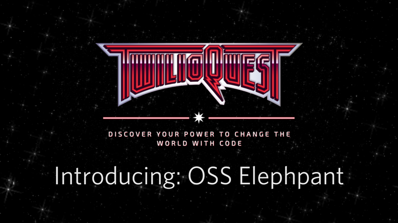 Introducing OSS Elephpant