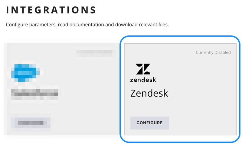 Twilio Flex Admin - Integrations - Zendesk