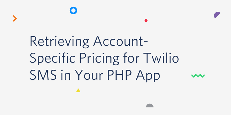Retrieving Account-Specific Pricing for Twilio SMS in Your PHP App