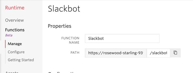 Managing your Slackbot in Twilio