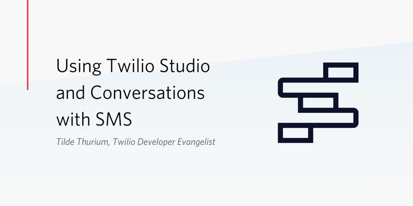 Using Twilio Studio and Twilio Conversations with SMS