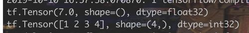 tensor objects