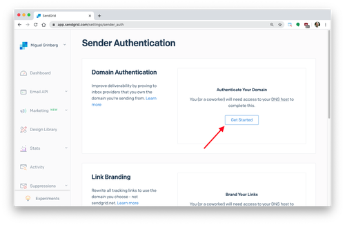 sender authentication