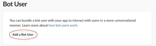 Add a bot user button