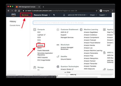 select lambda service