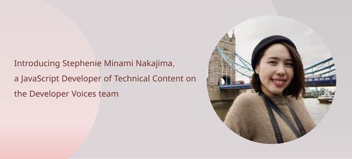 Stephenie Minami Nakajima's introduction post banner image