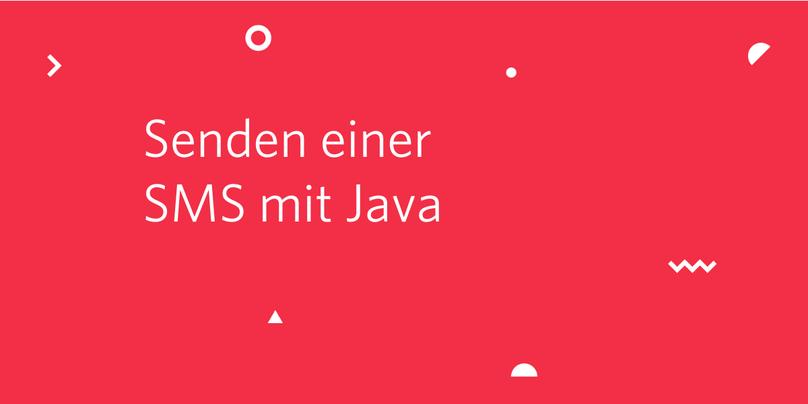 Senden einer SMS mit Java