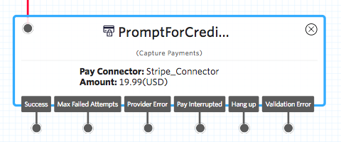 Capture Payments widget