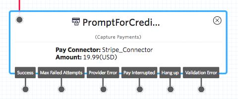 Capture Payments widget