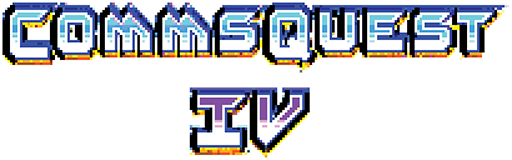 Commsquest IV Logo
