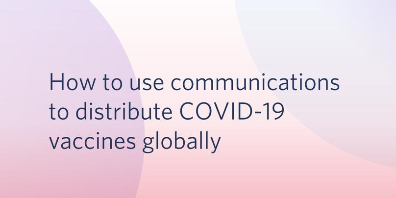 COVID-19 vaccine distribution