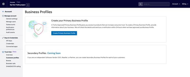 Customer Profiles Dashboard