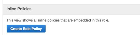 Amazon IAMでインラインポリシーを作成する