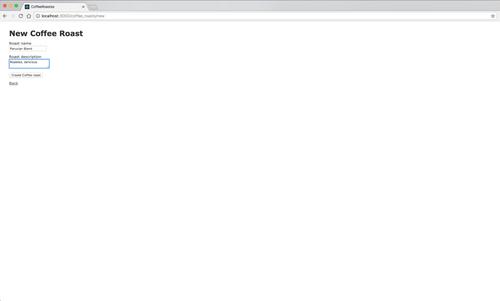 Imagem do app Ruby SMS Twilio com recursos de café