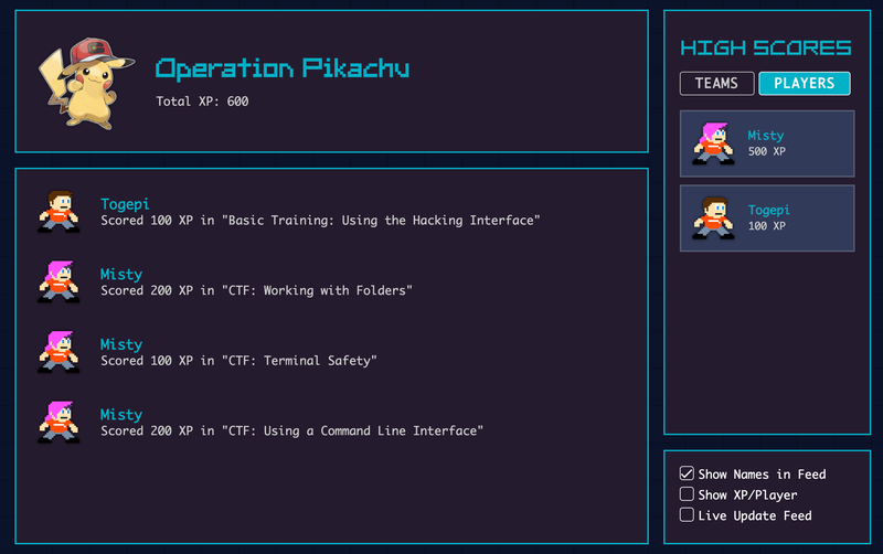 operation - pikachu