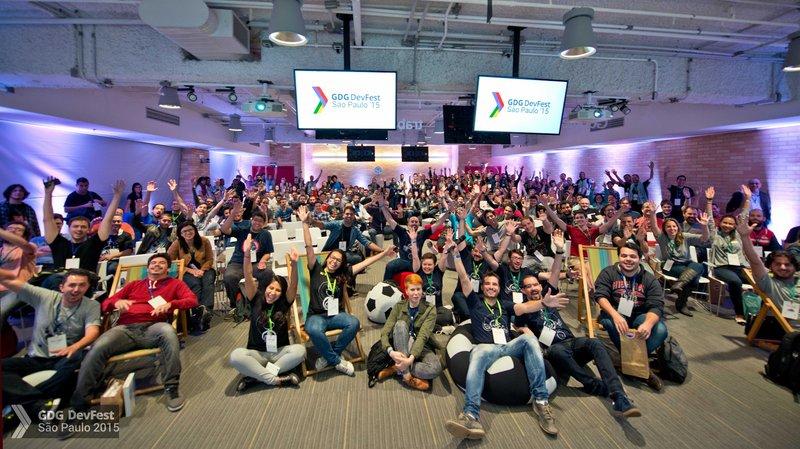DevFest São Paulo 2015 no escritório da Google em São Paulo