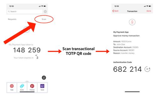 Transaktions-TOTP