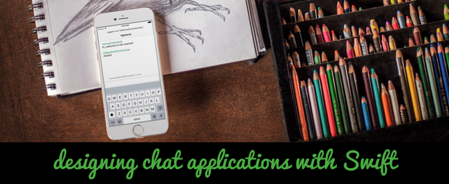 designing chat applications in iOS with Swift