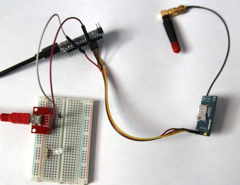 Arduino Nano SIM800