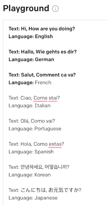 Greetings in many languages